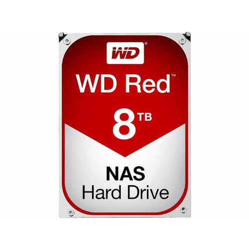 WD Red NAS Hard Drive, 8TB, SATA III 6 Gb/s,5400-RPM, 3.5in, 256MB Cache, 3 years - Advanced PC and Simulations