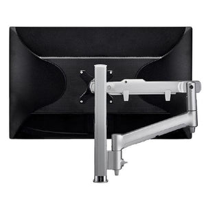 Atdec AWM Single monitor arm solution - dynamic arm - 400mm post - F Clamp - white