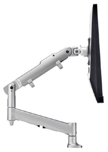 Atdec AWM Single monitor arm solution - 618mm dynamic arm - 0-9 kg - single base - Grommet Clamp - silver