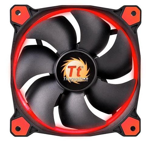 THM FAN 120MM-RED-RIING12-3PACK - Advanced PC and Simulations