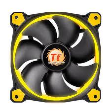 THM FAN 120MM-YELLOW-RIING12 - Advanced PC and Simulations