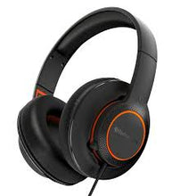 Load image into Gallery viewer, Black & Orange Siberia 100 3.5mm Headset