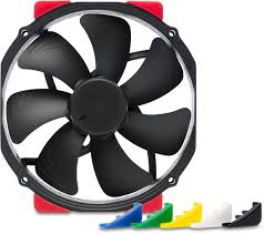 140mm (120mm Mounts) NF-A15 HS-PWM Chromax.Black.Swap Edition 1500RPM Fan - Advanced PC and Simulations