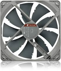 140mm NF-P14S Redux Edition Square Frame PWM Fan (Max 1200RPM) - Advanced PC and Simulations