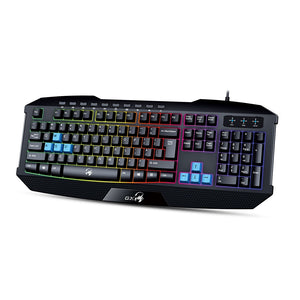 Genius K215 Backlit multimedia USB Gaming keyboard