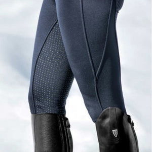 Horze Women's Active Fleece Lined Silicone Fullseat Tights