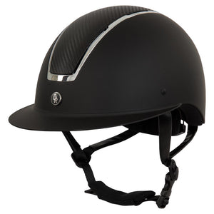 BR Omega Riding Helmet with Wide Brim