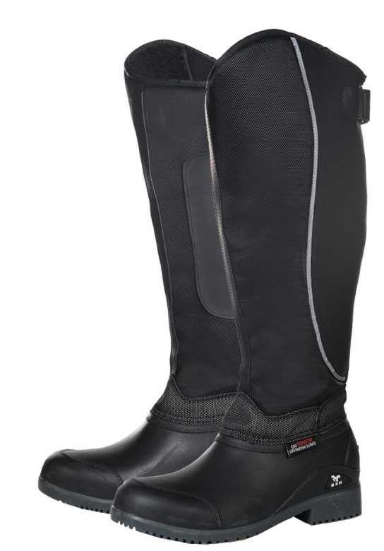 Horse Tech Reflective Winter Boot with Stretch Calf