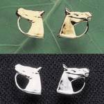 Exselle Horse Head Earrings-0