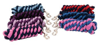 Shires Two-Tone Cotton Lead Rope