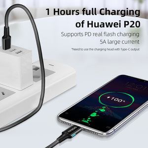 PD100W Magnetic Charging Data Cable