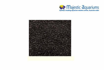 Decorative Gravel 2kg Black 7mm Aqua One