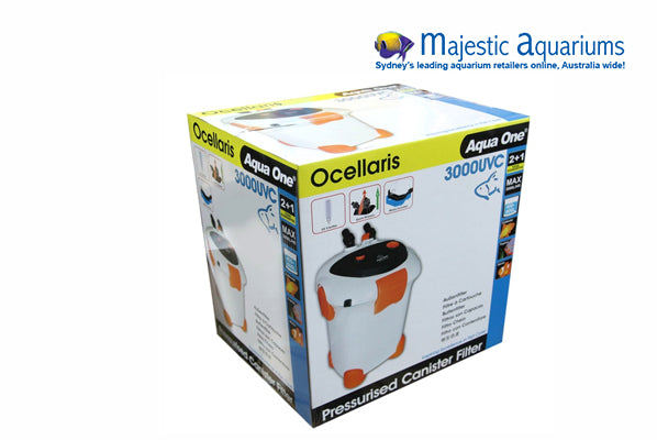 Aqua One Ocellaris 3000 UVC Canister Filter 3000LH