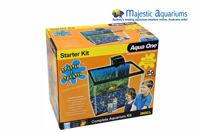 Aqua One Splish & Splash Starter Kit Sm 14L Glass