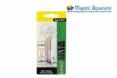 Aqua One Nano Glass Thermometer 9cm