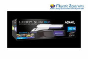 Aquael Leddy Slim 10W 24-32cm Duo Marine & Actinic Complete Light Unit