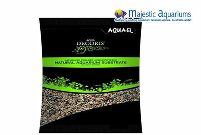Aquael Natural Multicolored Gravel 1.4-2mm 10kg