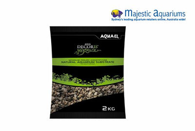 Aquael Natural Multicolored Gravel 3-5mm 2kg
