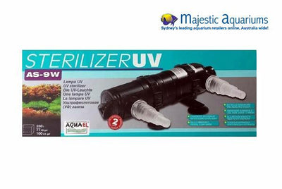 Aquael Sterilizer UV 9w (Compatible with Unimax 250 & 500 Canister Filter)