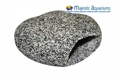Cave Round Medium 12x9x6.5cm Granite