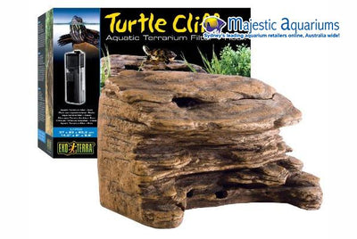 Exo Terra Turtle Rock Cliff Large with Filter