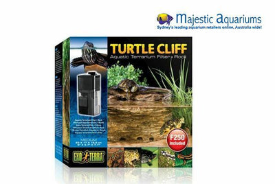 Exo Terra Turtle Rock Cliff Medium with Filter