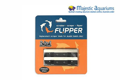 Flipper Scrubber Replacement Blades 2-in-1