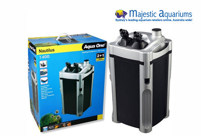 Nautilus 1400 Canister Filter 1400LH