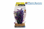 Plastic Plant Blue Bacopa Equisetum W Gravel Base XL