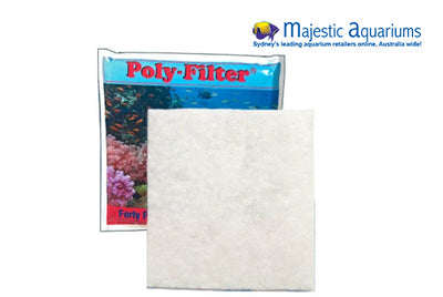 Poly-Filter Pad 12 in x 12 in - Large