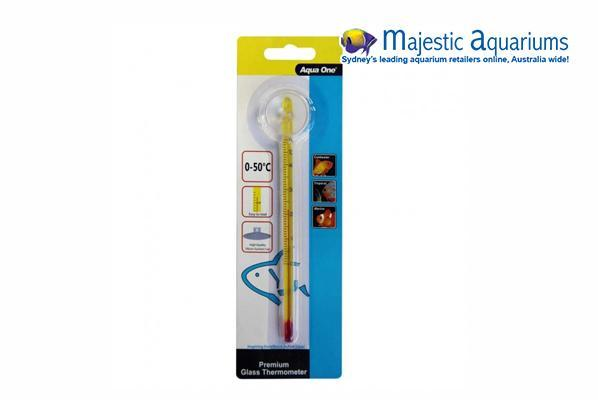 Premium Glass Thermometer 15cm
