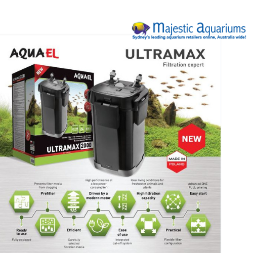 Aquael Canister Filter Ultramax 1000