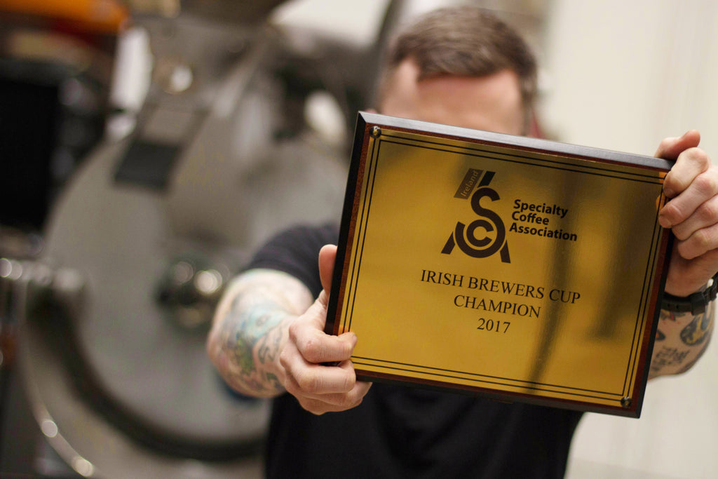 Stephen Houston shares what it takes to become the Irish Brewers Cup champion