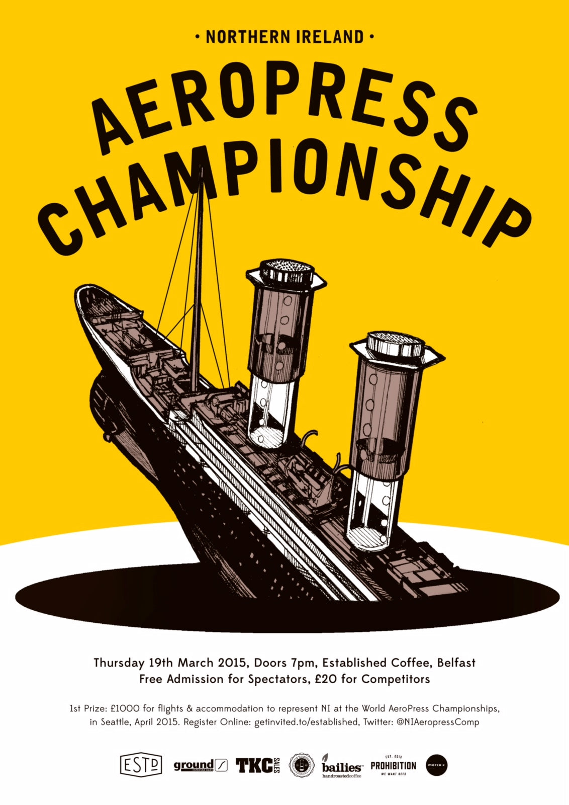 Northern Ireland 2015 Aeropress Championship