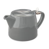 For Life Stump Teapot 18oz with Stainless Steel Infuser - Bailies Coffee Roasters