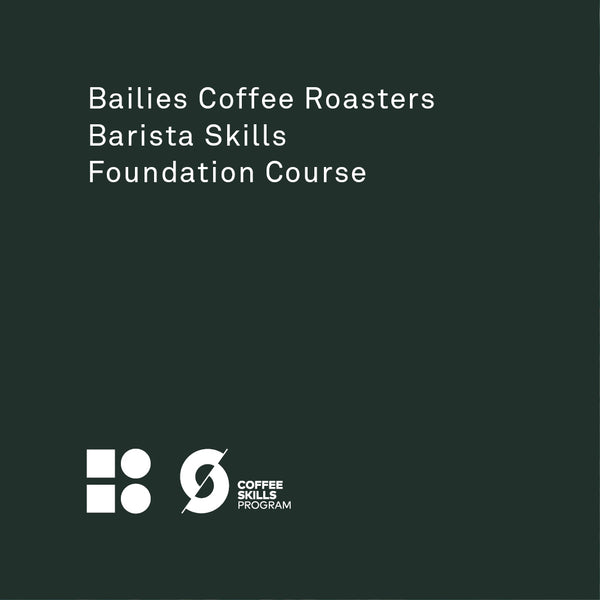 SCA Barista Skills Foundation Course