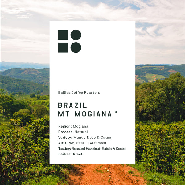 Brazil Mountain Mogiana Natural - Bailies Coffee Roasters