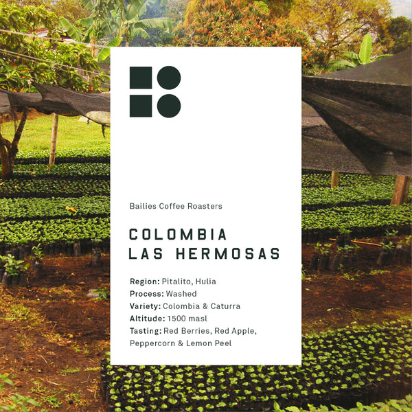 Colombia Las Hermosas 250g Pre-Order for Roast Date 30/04/18