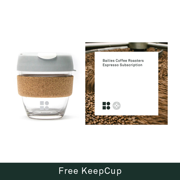 Espresso Coffee Subscription + Free KeepCup - Bailies Coffee Roasters