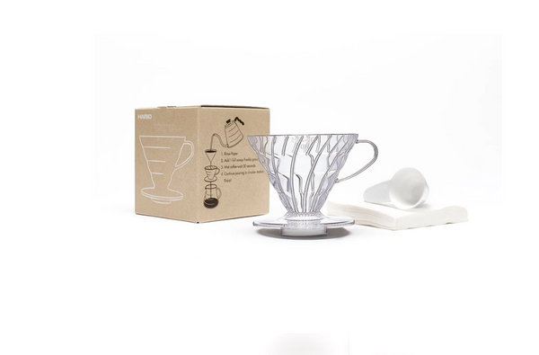 Hario V60 Plastic Coffee Dripper Set