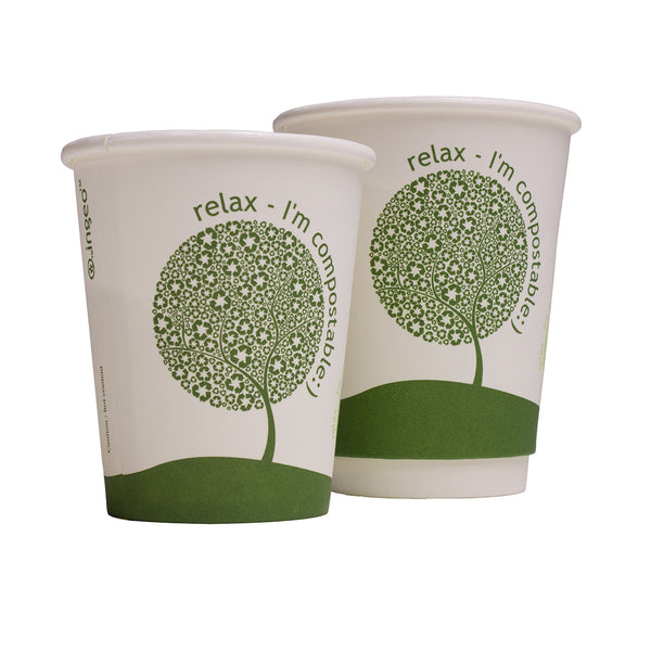 Compostable Takeaway Cups - Bailies Coffee Roasters