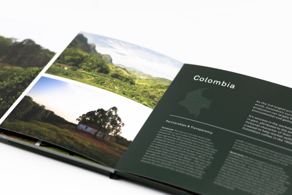 Bailies Coffee Sourcing Book: Limited Edition - Bailies Coffee Roasters