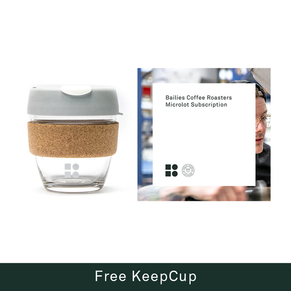 Microlot Coffee Subscription + Free KeepCup (T&C's Apply)
