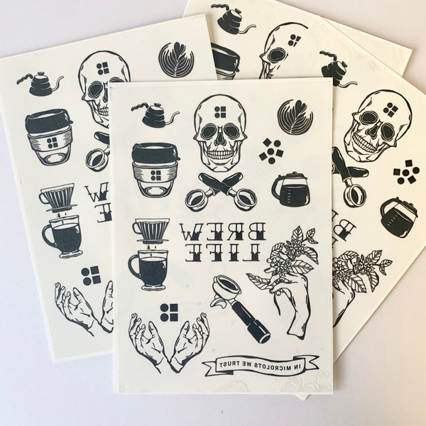 Bailies Temporary Tattoos - Bailies Coffee Roasters