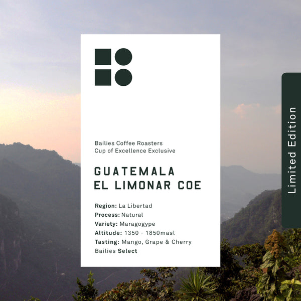 Guatemala El Limonar Cup of Excellence // Bailies Select Microlot - Bailies Coffee Roasters