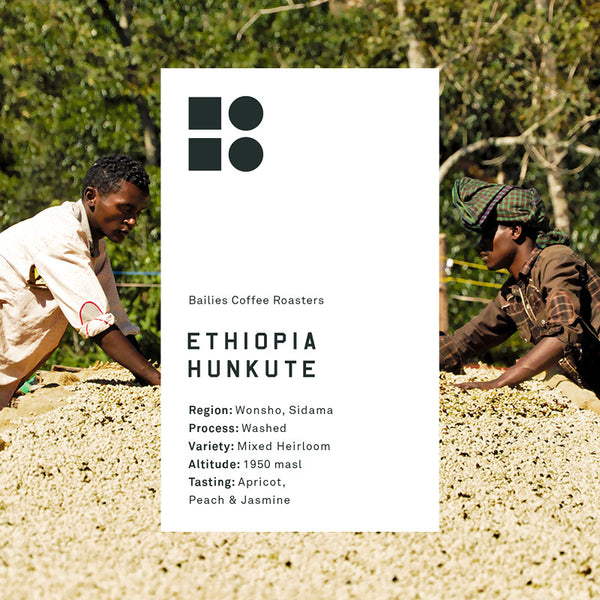 Ethiopia Hunkute Washed - Bailies Coffee Roasters