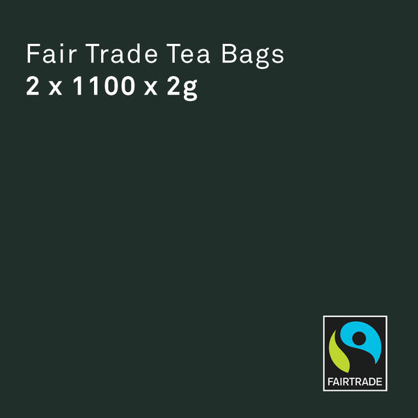 Standard Fair Trade Tea Bags 2 x 1100 - Bailies Coffee Roasters