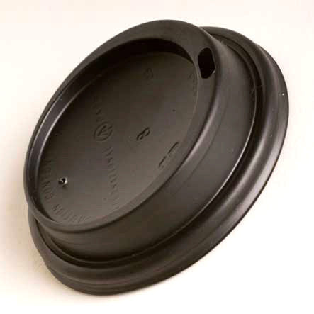 Black Takeaway Lids - Bailies Coffee Roasters
