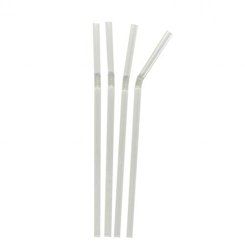 Jumbo Bendy Straws (200mm) 4 x 250 - Bailies Coffee Roasters
