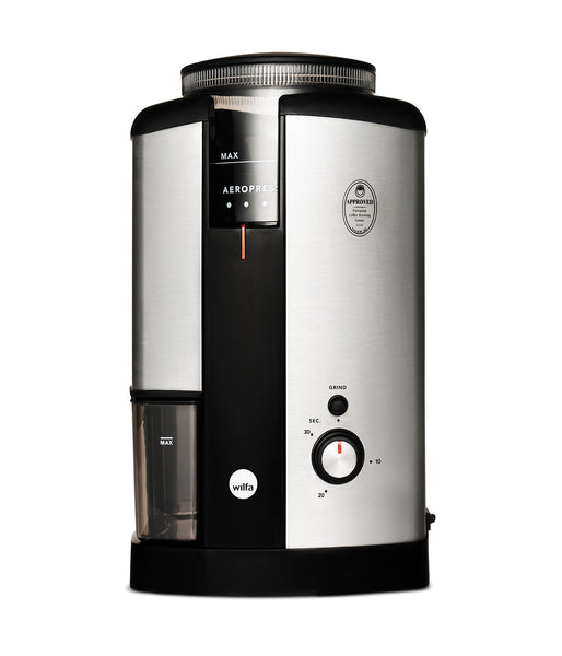 Wilfa Coffee Grinder (Silver) - Bailies Coffee Roasters